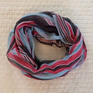 Striped Infinity Scarf